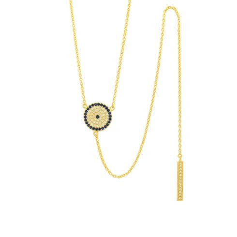 Laura Evil Eye Necklace
