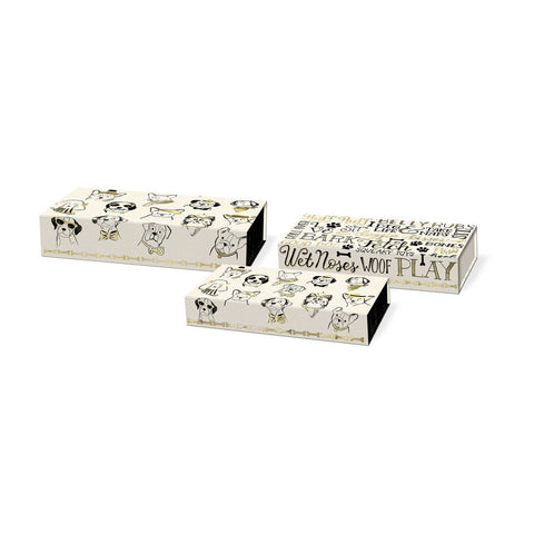 Nesting Pencil Box- Puppies