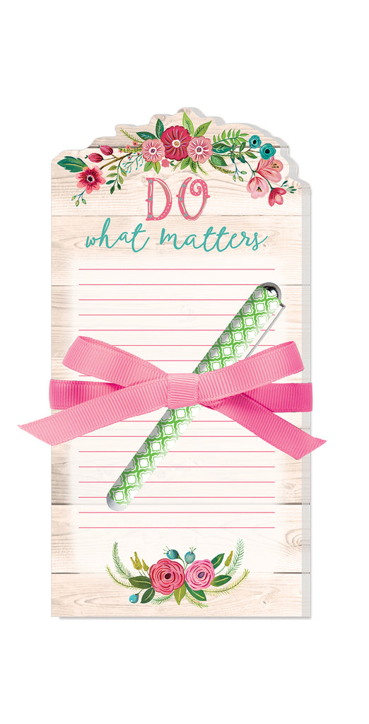 Notepad With Pen- Do What Matters