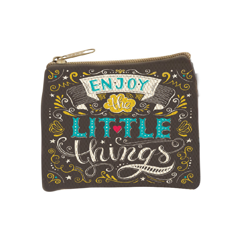 Coin Pouch Enjoy Little Things