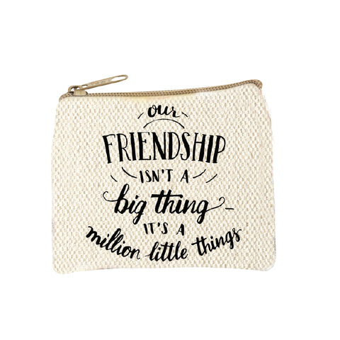 Coin Pouch Friendship