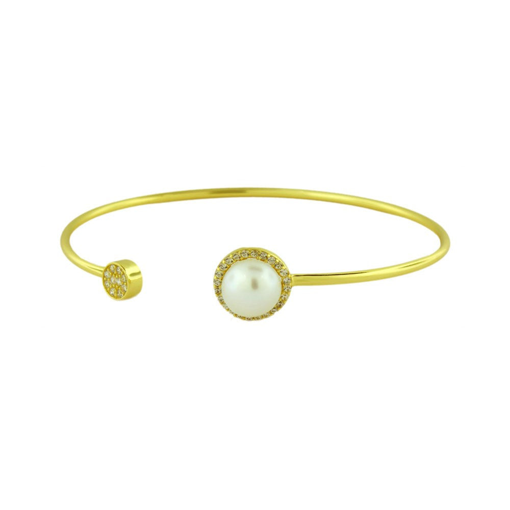Pearl Orbitz Bangle