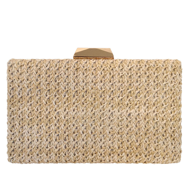 Janey Box Clutch