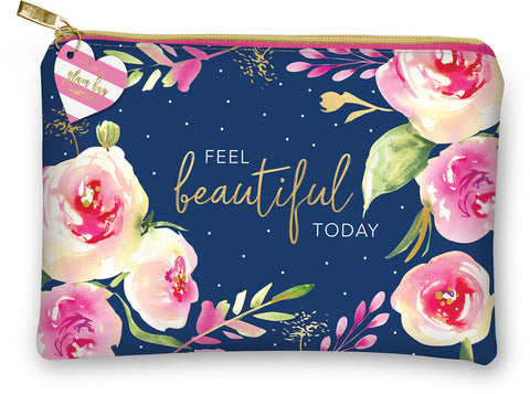 Zipper Bag- Feel Beautiful
