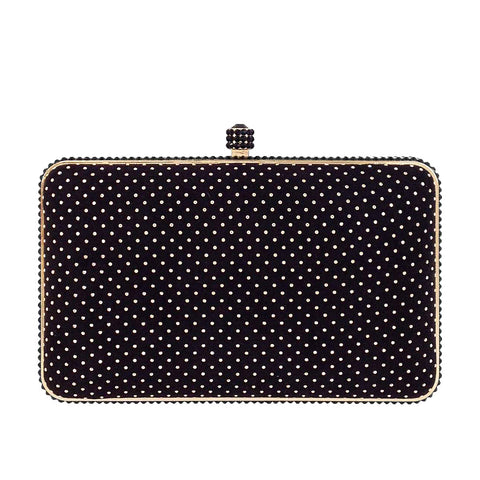 Polka Dot Evening Clutch