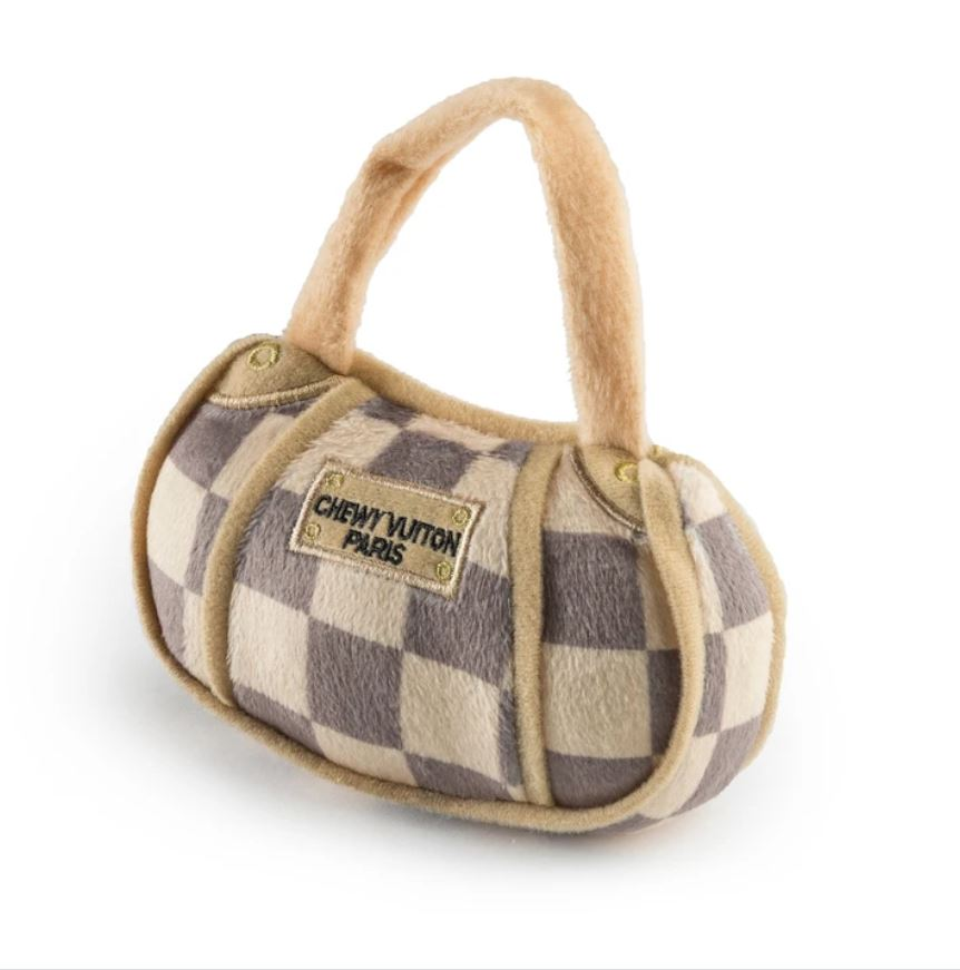 Chewy Vuitton Plush Pet Toy