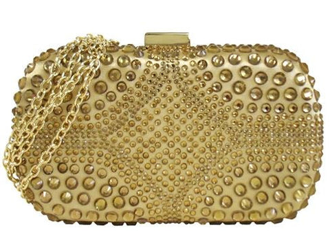 Crystal Accent Hardcase Clutch Small
