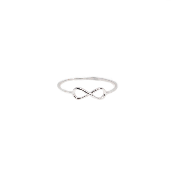 Infinity Plain Small Ring
