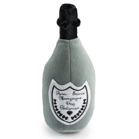 Dog Perignon Bottle Plush Pet Toy