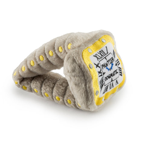 Pawtier Dogmatic Watch Plush Pet Toy
