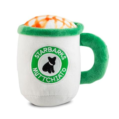 Starbarks Muttchiato Cup Plush Pet Toy