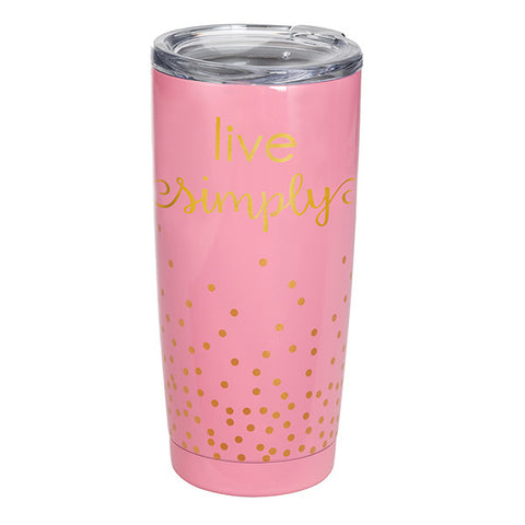 Insulated Tumbler- Live Simply
