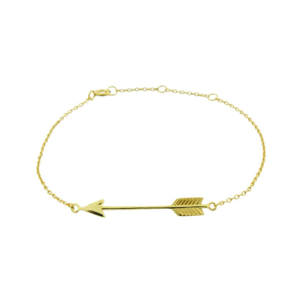 Arrow Sideways 925 SS Bracelet