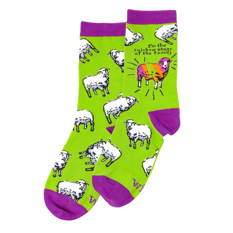 Socks - Rainbow Sheep