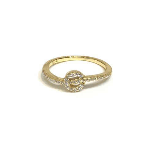 Noelly Circle Wave Ring