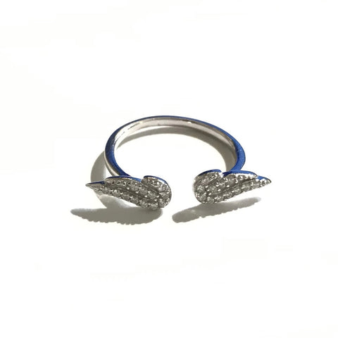 Olivia Angel Wing Ring