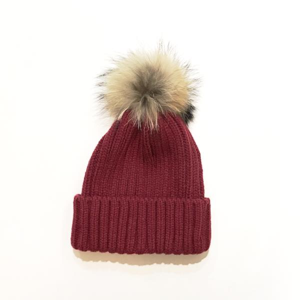 Pom Pom Winter Hat
