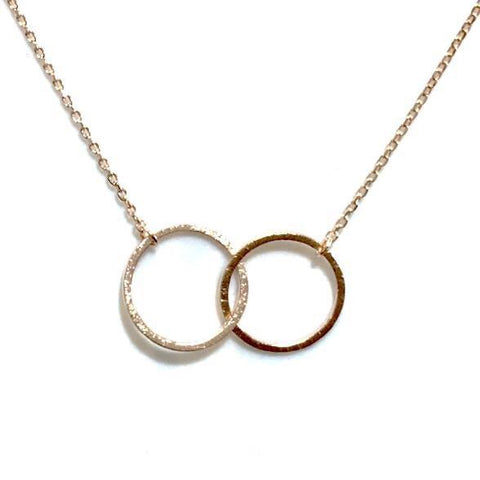 Geovana Rings Brass Necklace