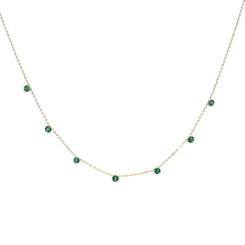 Kory Gemstone Beaded Necklace