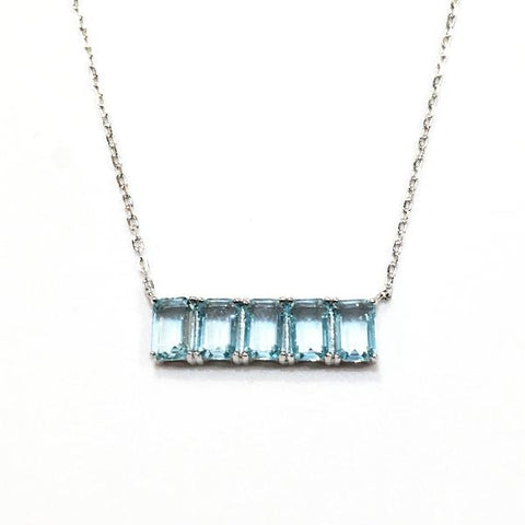 Barbara Birthstone Necklace