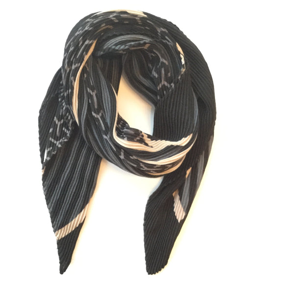 Brittany Pleated Scarf