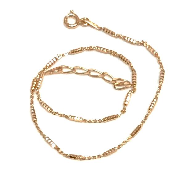 Sterling Silver Bar Anklet