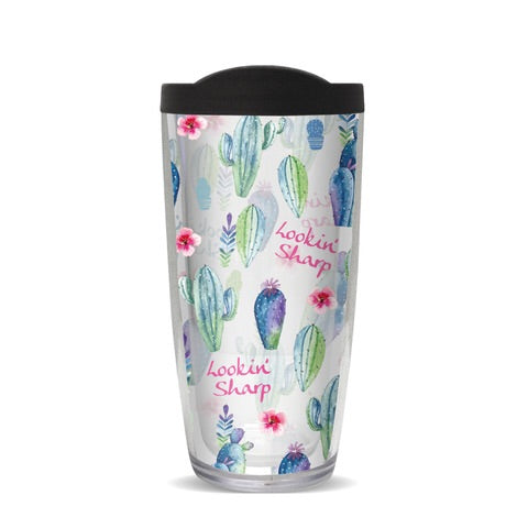 Insulated Tumbler- Looking Sharp Cactus
