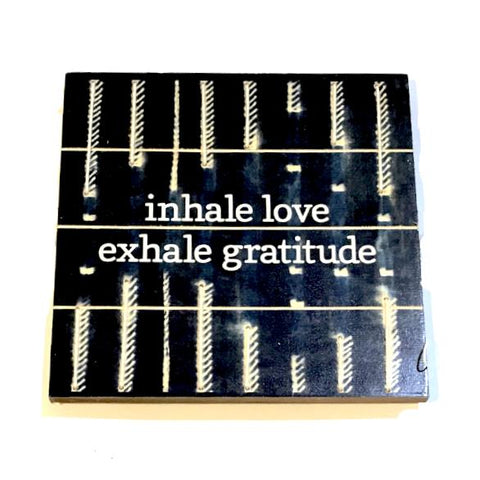 String Art Inhale Love Exhale Gratitude