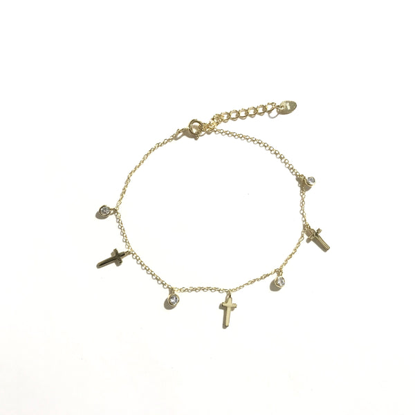 Cross Charms Bracelet