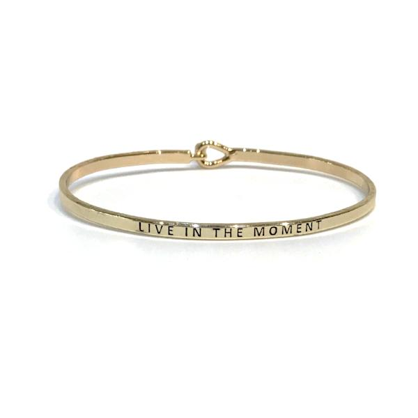 Mantra Bangle 'Live In The Moment'