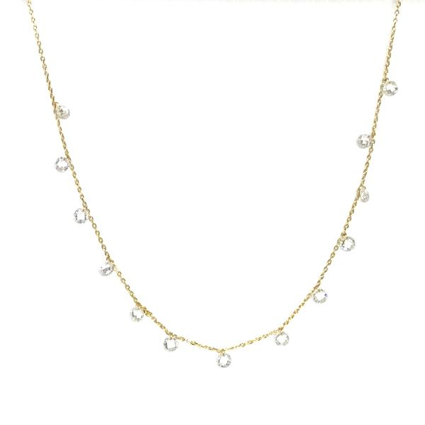Amy Dangle Crystal Necklace