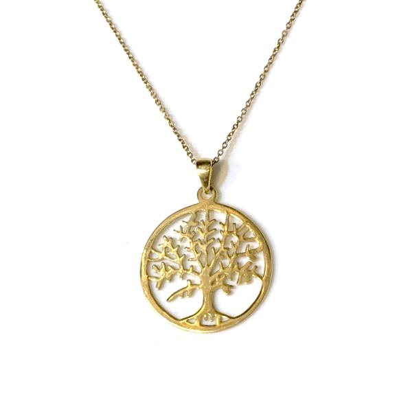 Tree Of Life Big Circle Necklace