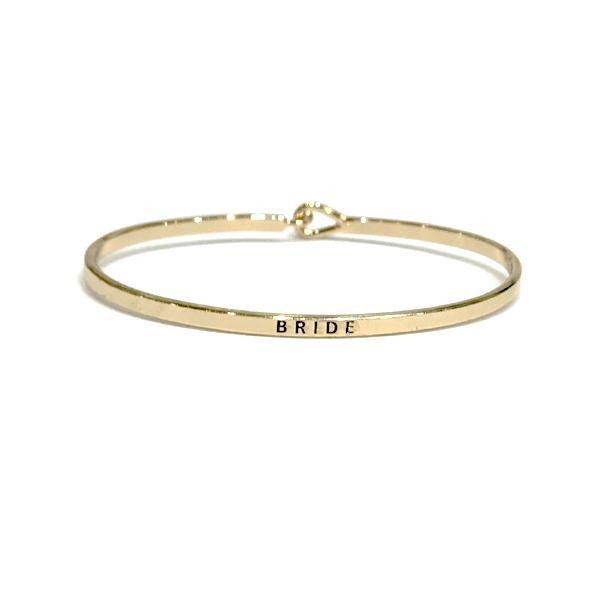Mantra Bangle 'Bride'