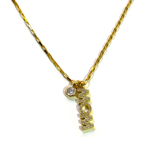 Mom Bezel Necklace