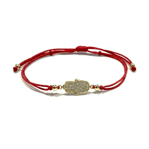 Hamsa Red Thread Bracelet