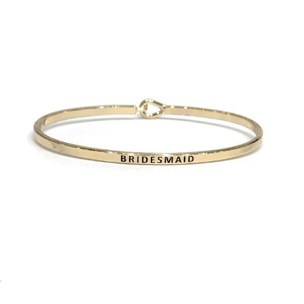 Mantra Bangle 'Bridesmaid'