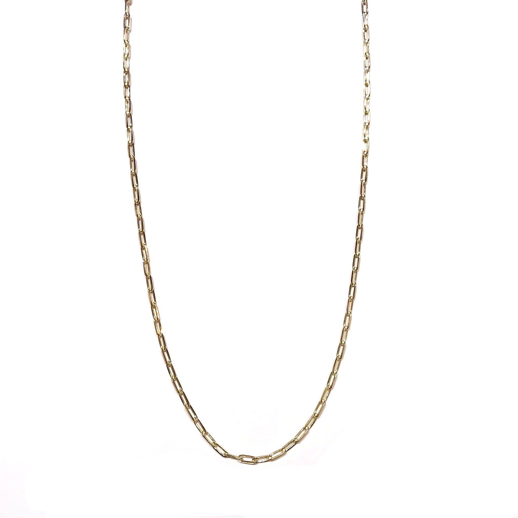 "Sterling Silver Long Link 24""Chain Only"