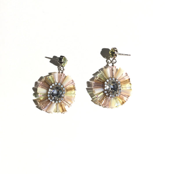 Kory Round Statement Earrings