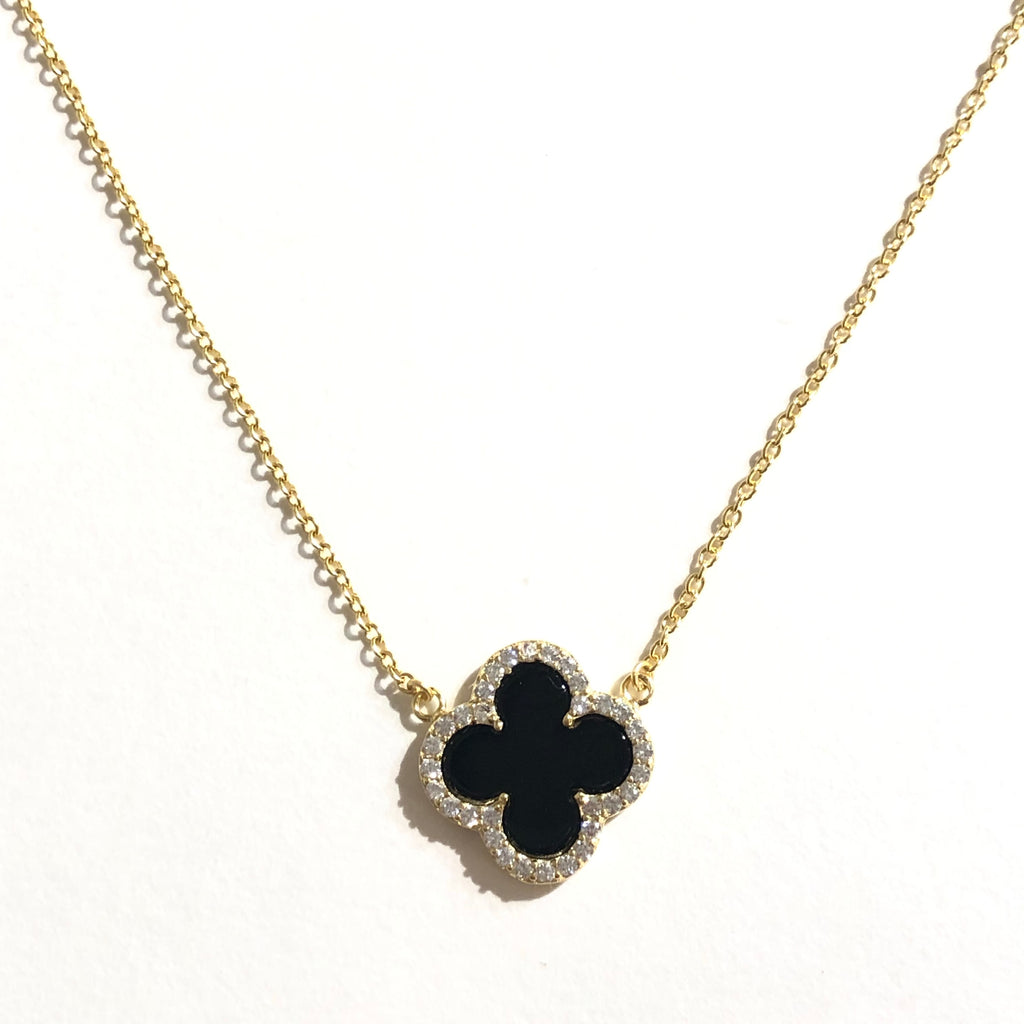 Flora Onyx Necklace