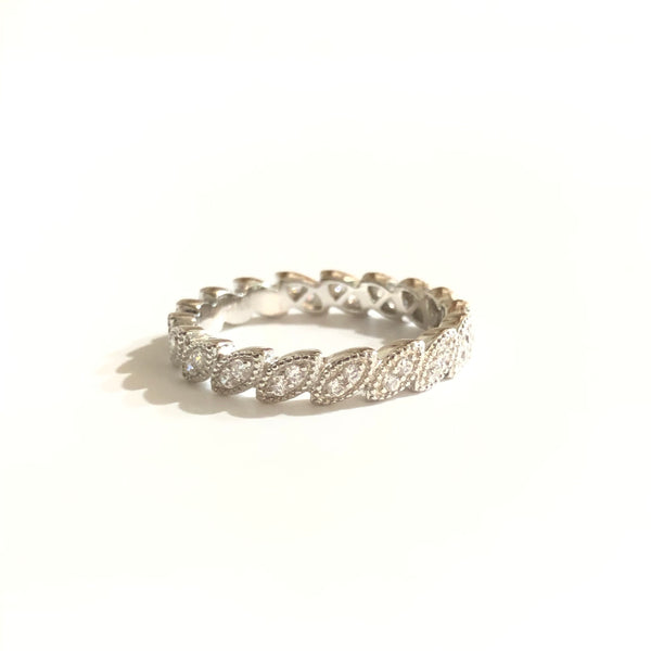 Noelia Art Deco Eternity Ring