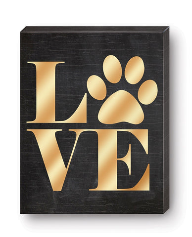 Canvas Love Paw