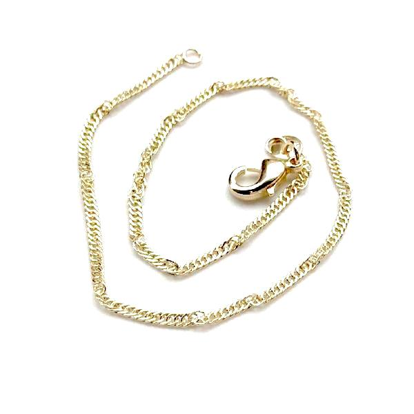 Gold Filled Twisted Anklet