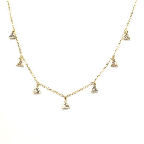 Amy Triangle Necklace