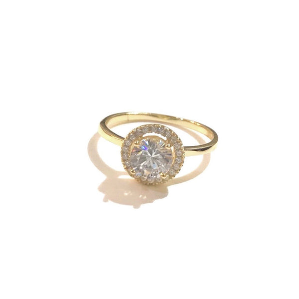 Adriene Engagement Clear Vacay Ring
