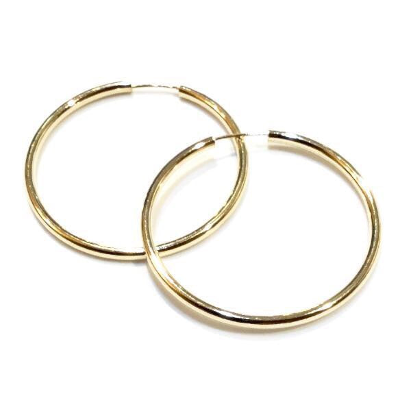 Endless Gold Filled Thin Hoops