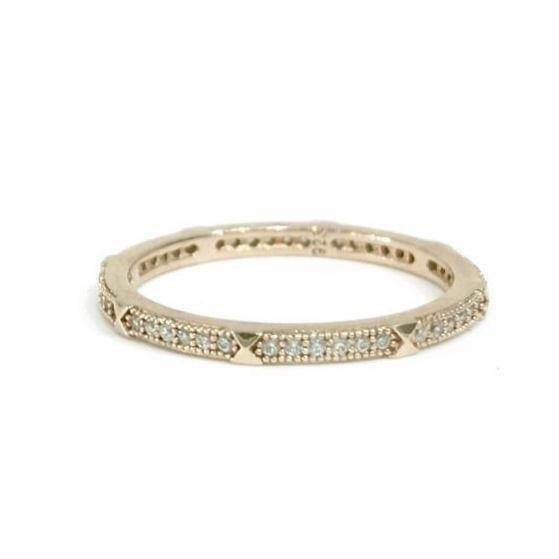 Noelia Pyramid Eternity Ring