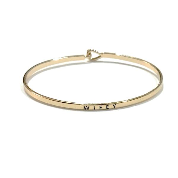 Mantra Bangle 'Wifey'