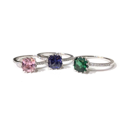 Adriene Crown CZ Ring