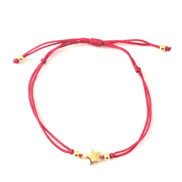 Starley Plain Red Thread Bracelet