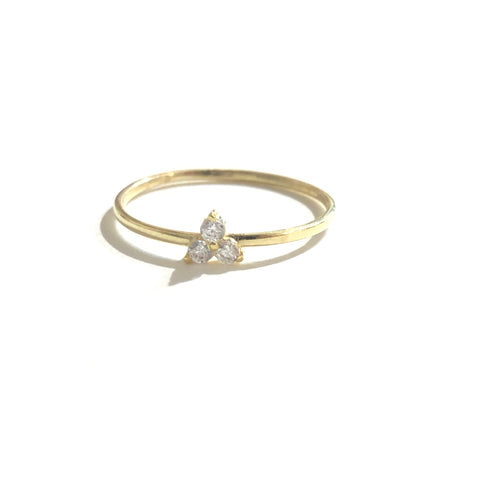 Noelly Triple Sparkle Ring